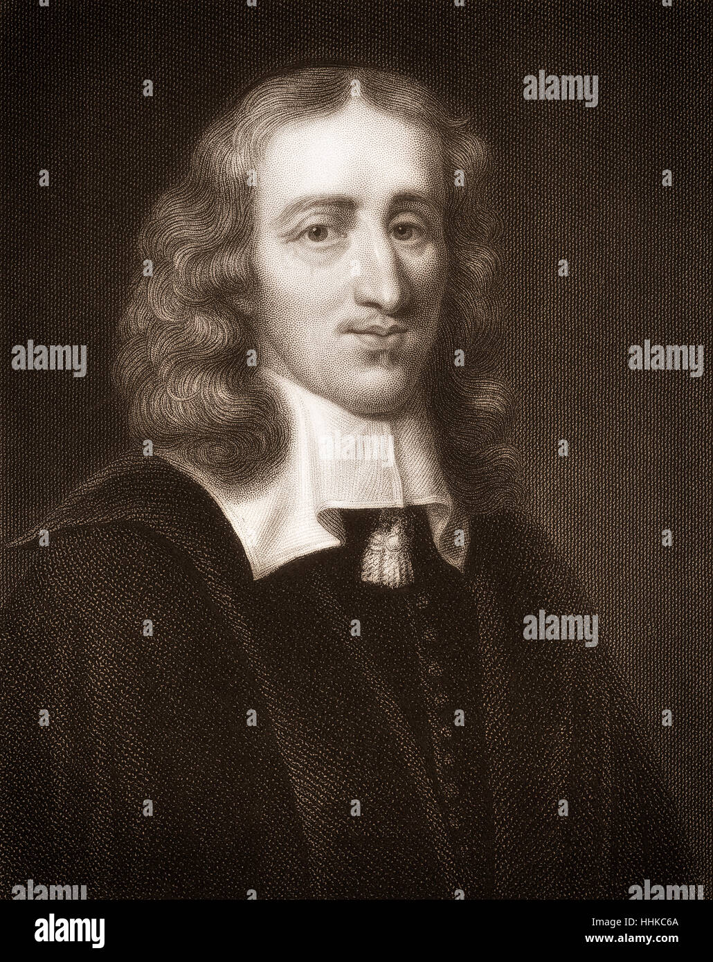Johan de Witt or Jan de Wit, 1625 - 1672, Dutch statesman - Stock Image