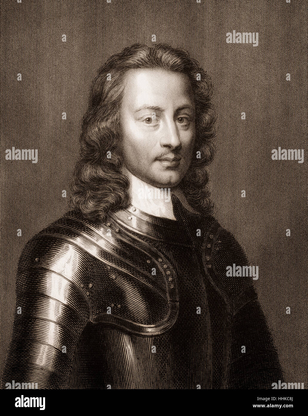 John Hampden, 1594 - 1643, a British politician - Stock Image