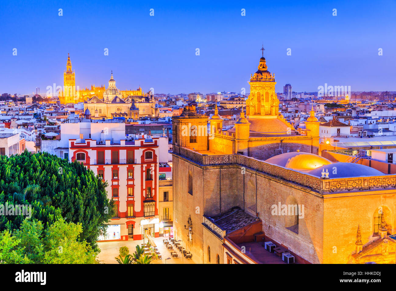 Seville, Spain. - Stock Image