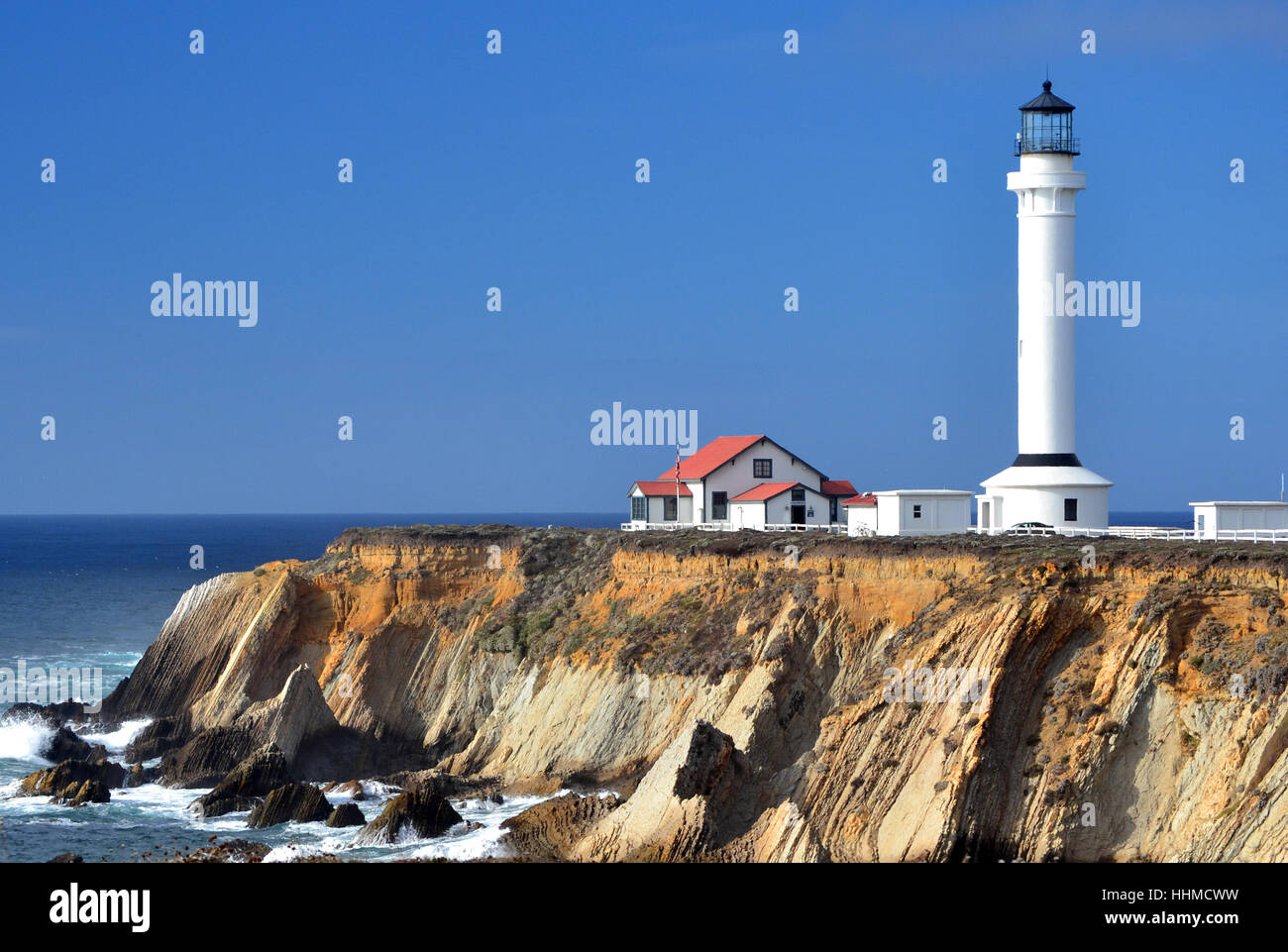 Point Arena Lighthouse - Stock Image