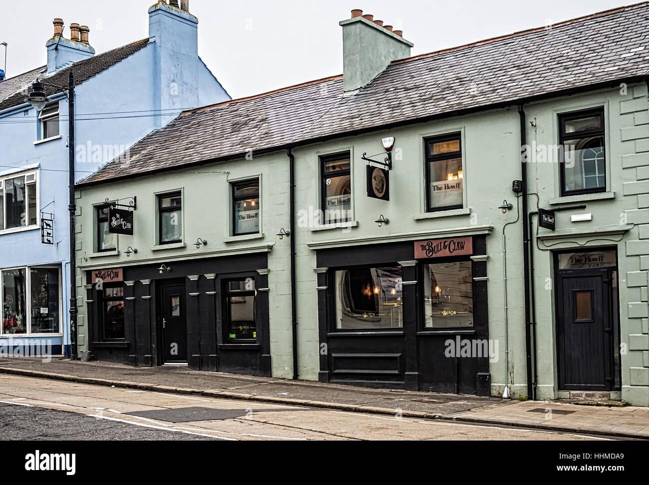 The Bull & Claw bistro pub - Stock Image