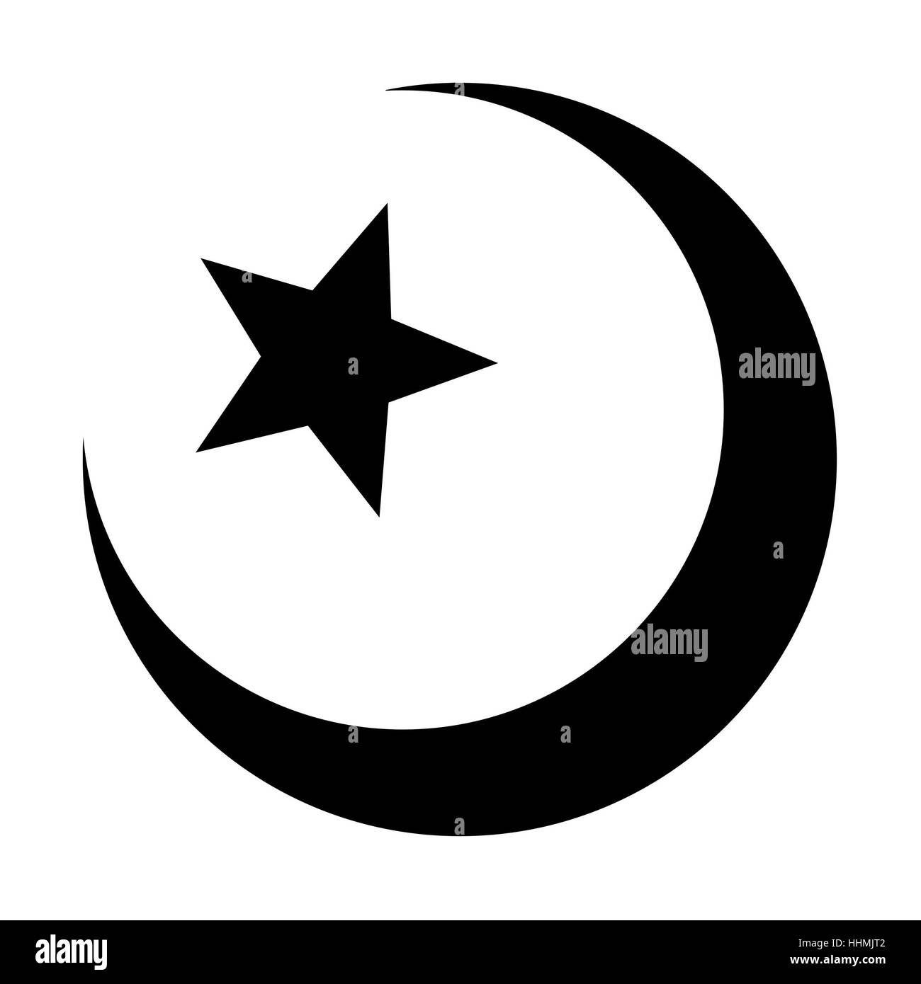 Muslim Symbol Cut Out Stock Images Pictures Alamy