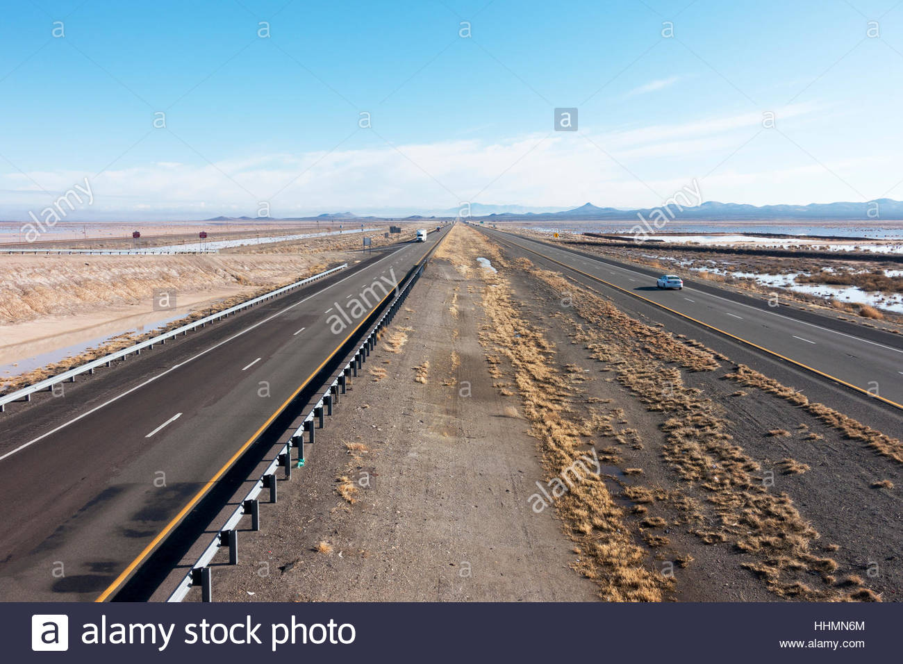 Interstate 10 in southwestern 'New Mexico' looking east - Stock Image