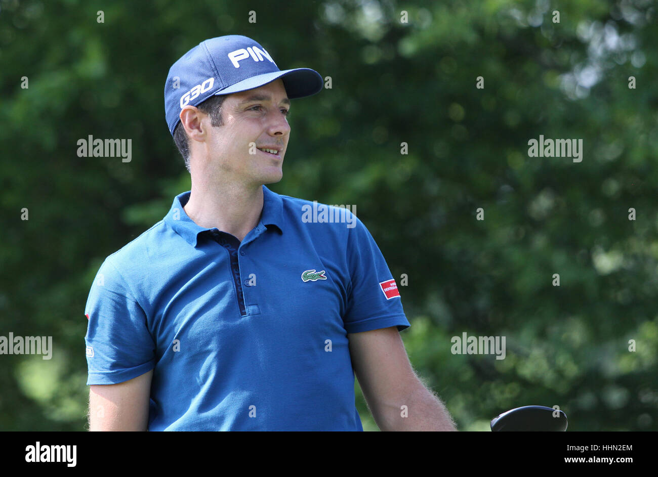GUYANCOURT, FRANCE, JULY 02, 2015 : Julien Quesne (FRA) at  the golf French Open , European Tour, july 02, 2015, Stock Photo