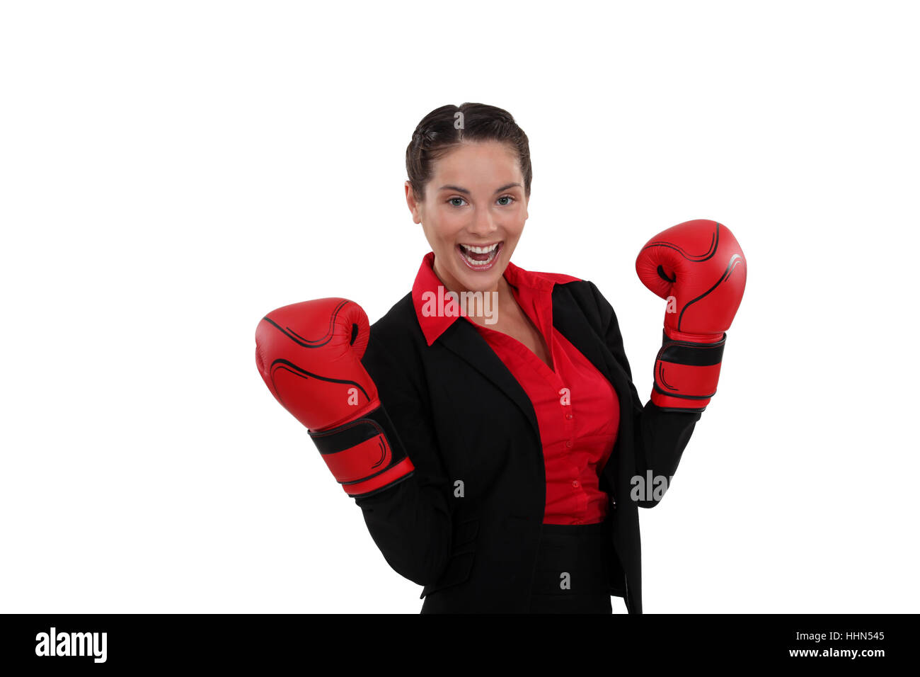 battle, adult, adults, boxer, bout, argument, boxing, woman, sport, sports, - Stock Image