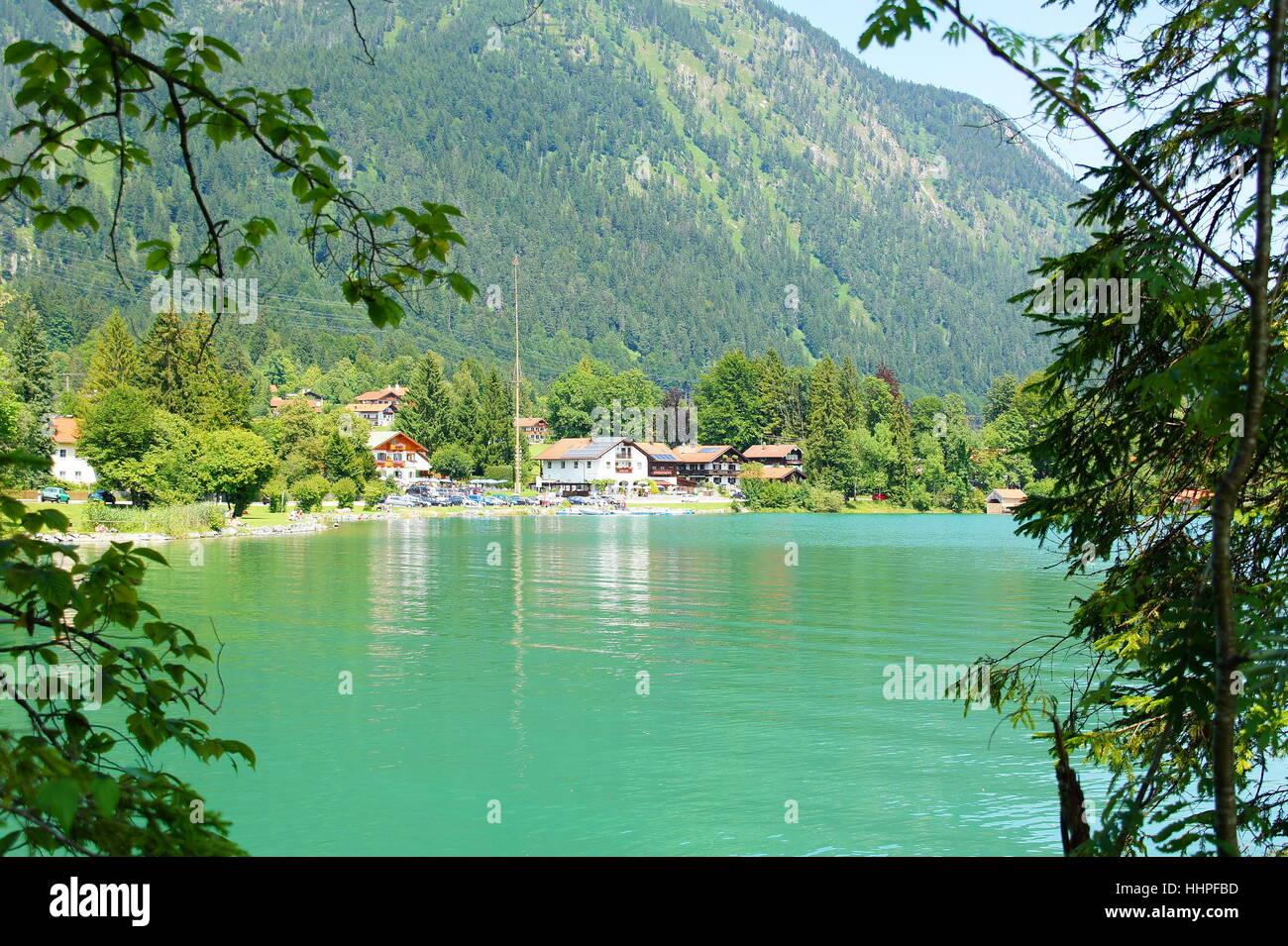 village walchenseern Stock Photo