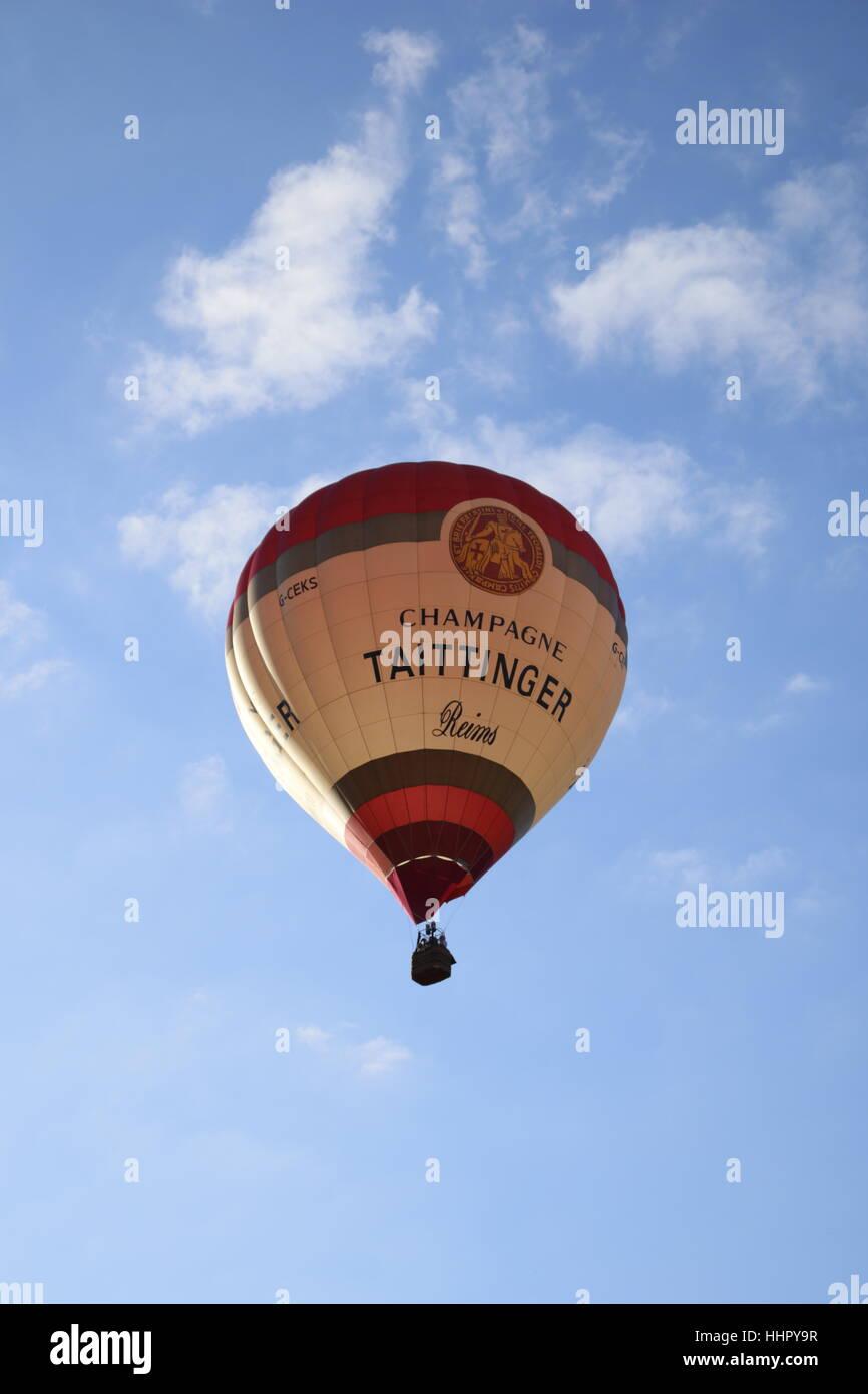 Bristol Balloon Fiesta 2016 in the vibrant & expanding city of Bristol, England Stock Photo