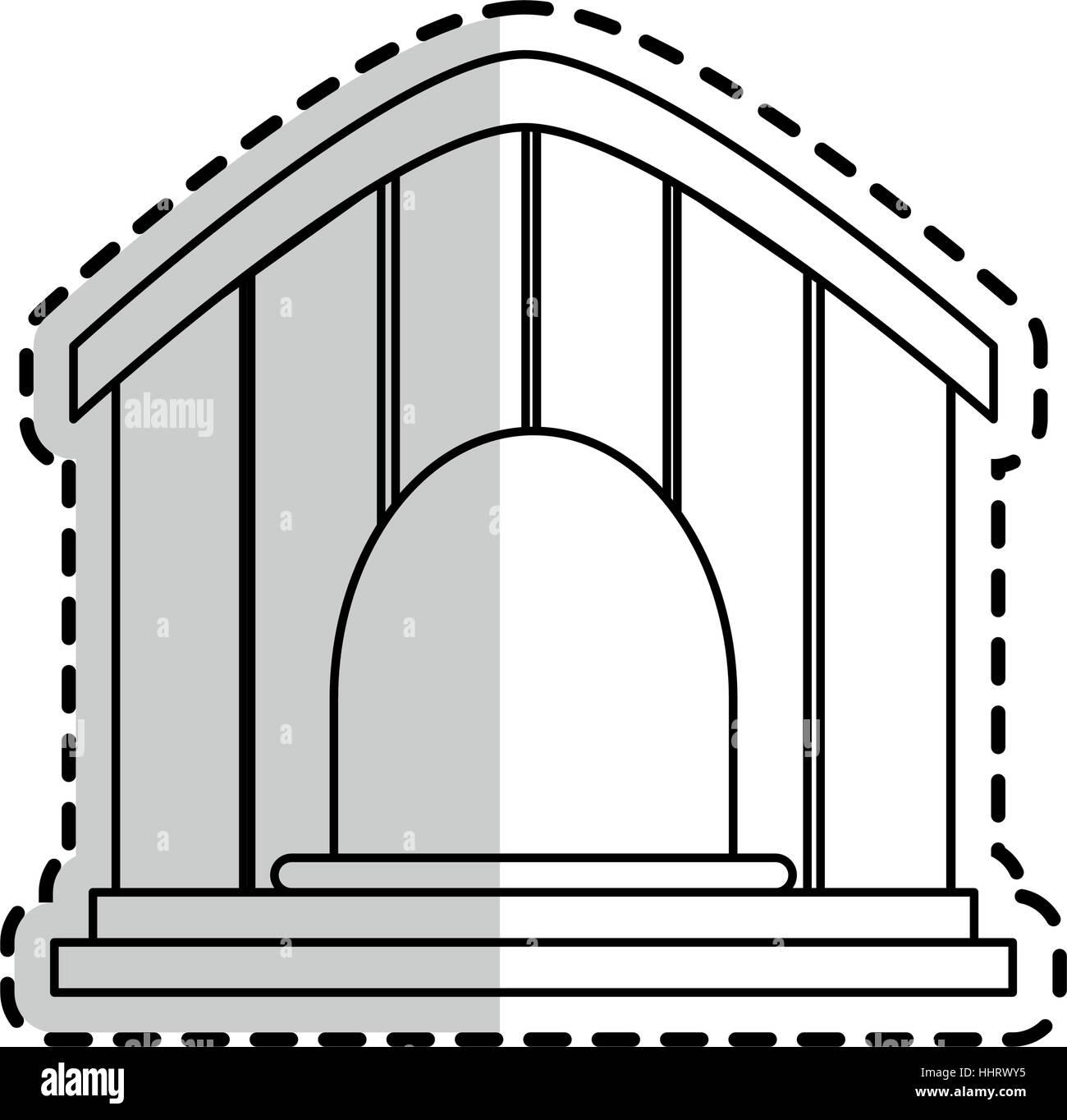 pet shop design - Stock Image