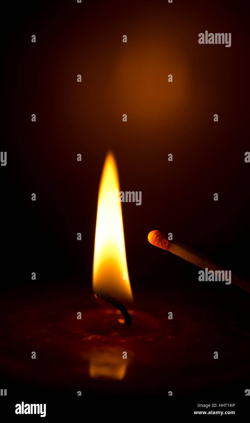fire conflagration - Stock Image