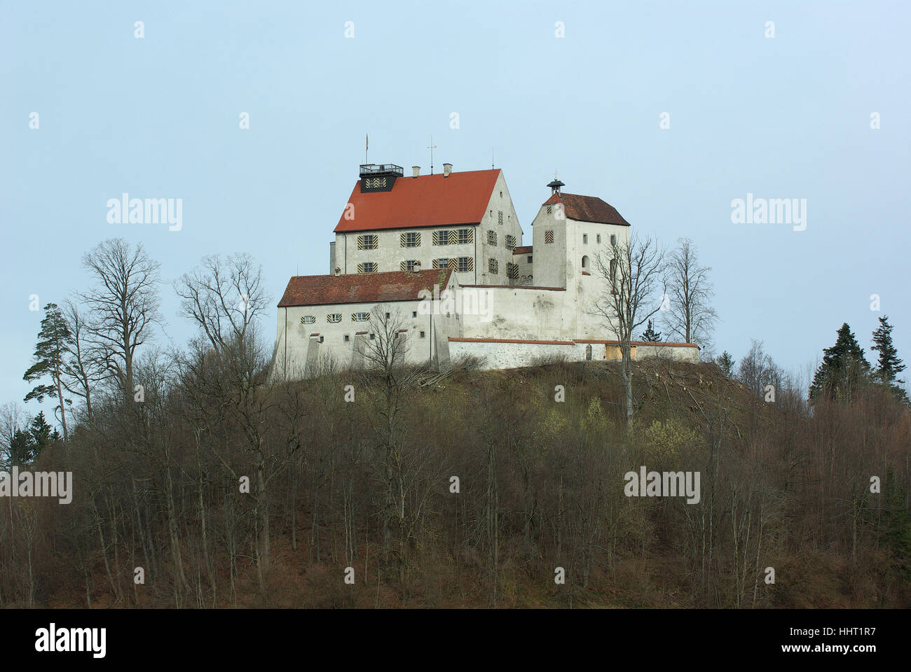 fortress, chateau, castle, middle ages, europe, fortress, medieval, germany, - Stock Image