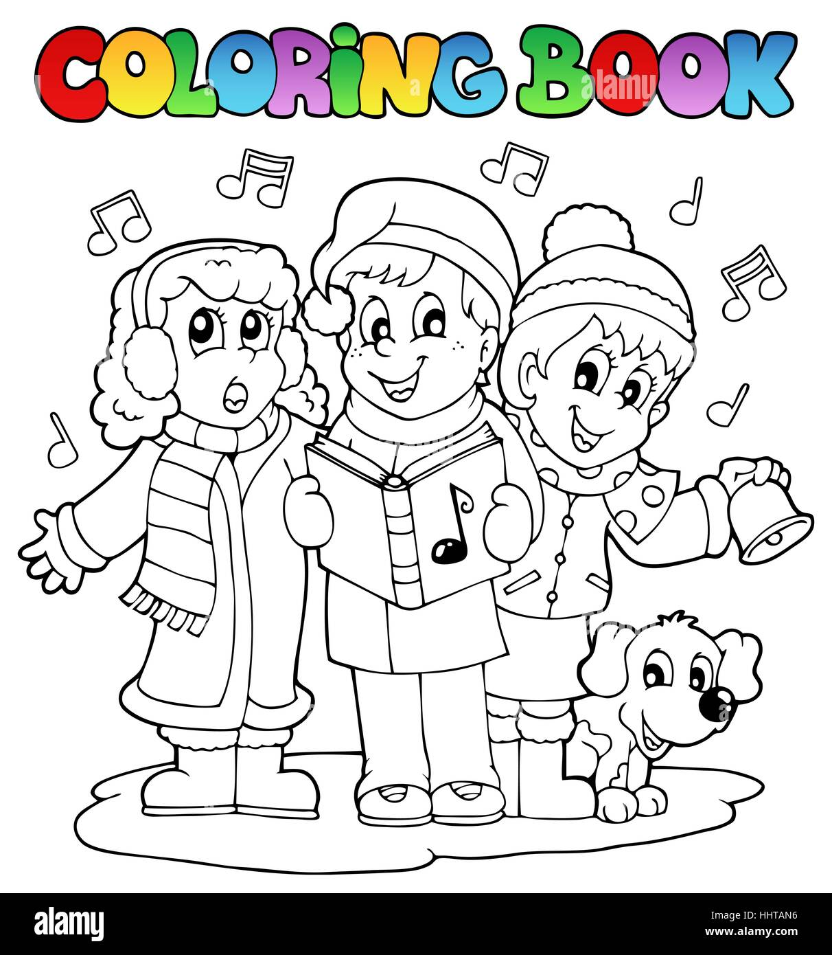 colour paint painted christmas carol colouring xmas x mas book humans