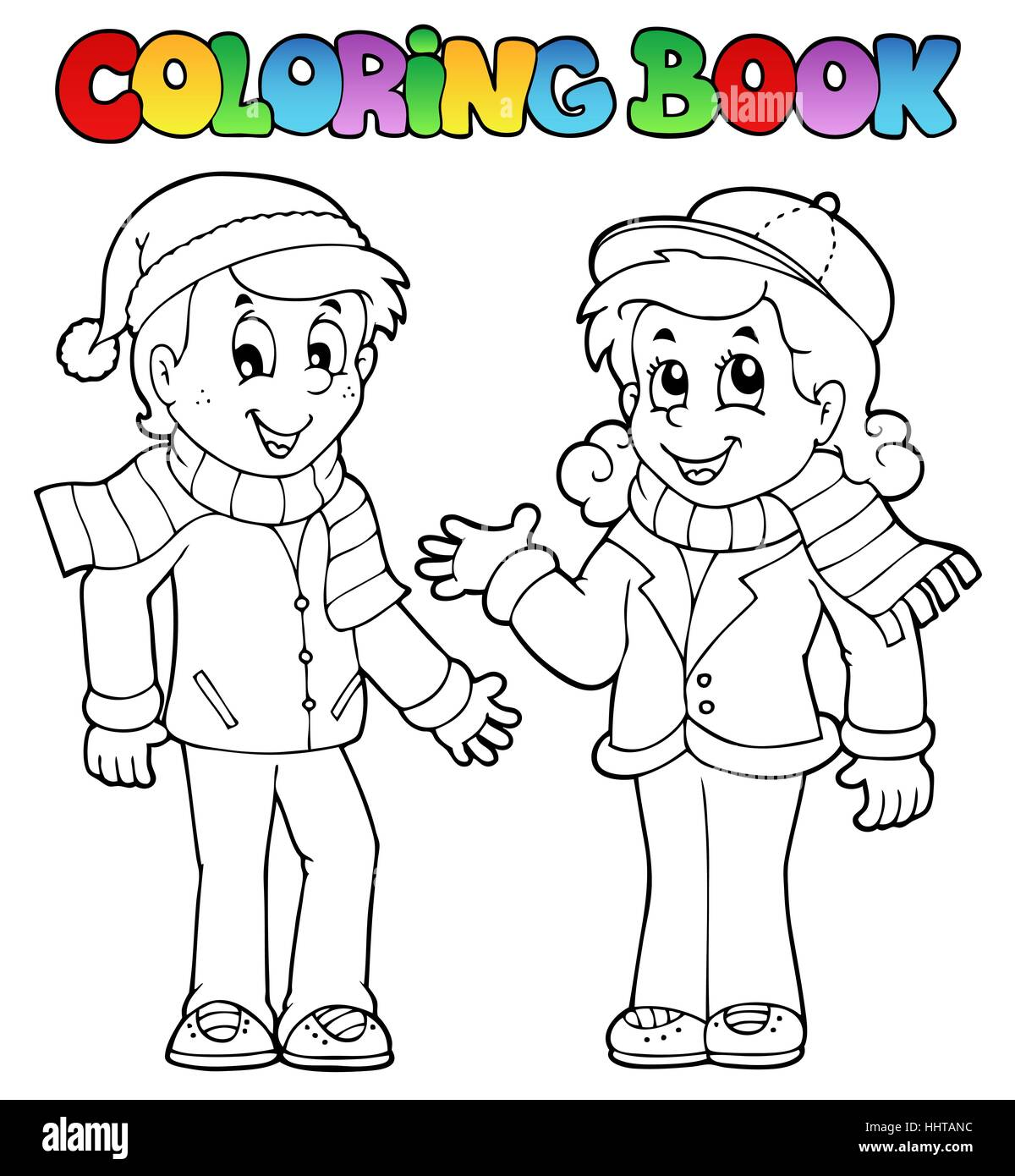 Colour Paint Painted Kid Colouring Boy Lad Male Youngster Girl Girls