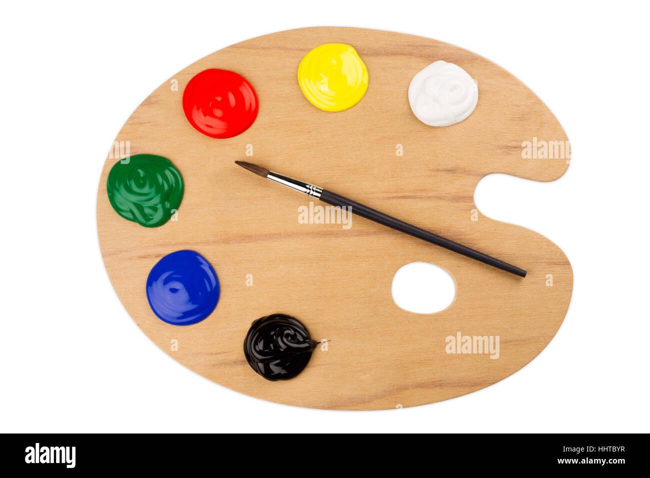 Art Colour Paint Gamut Artist Painter Colors Colours Palette