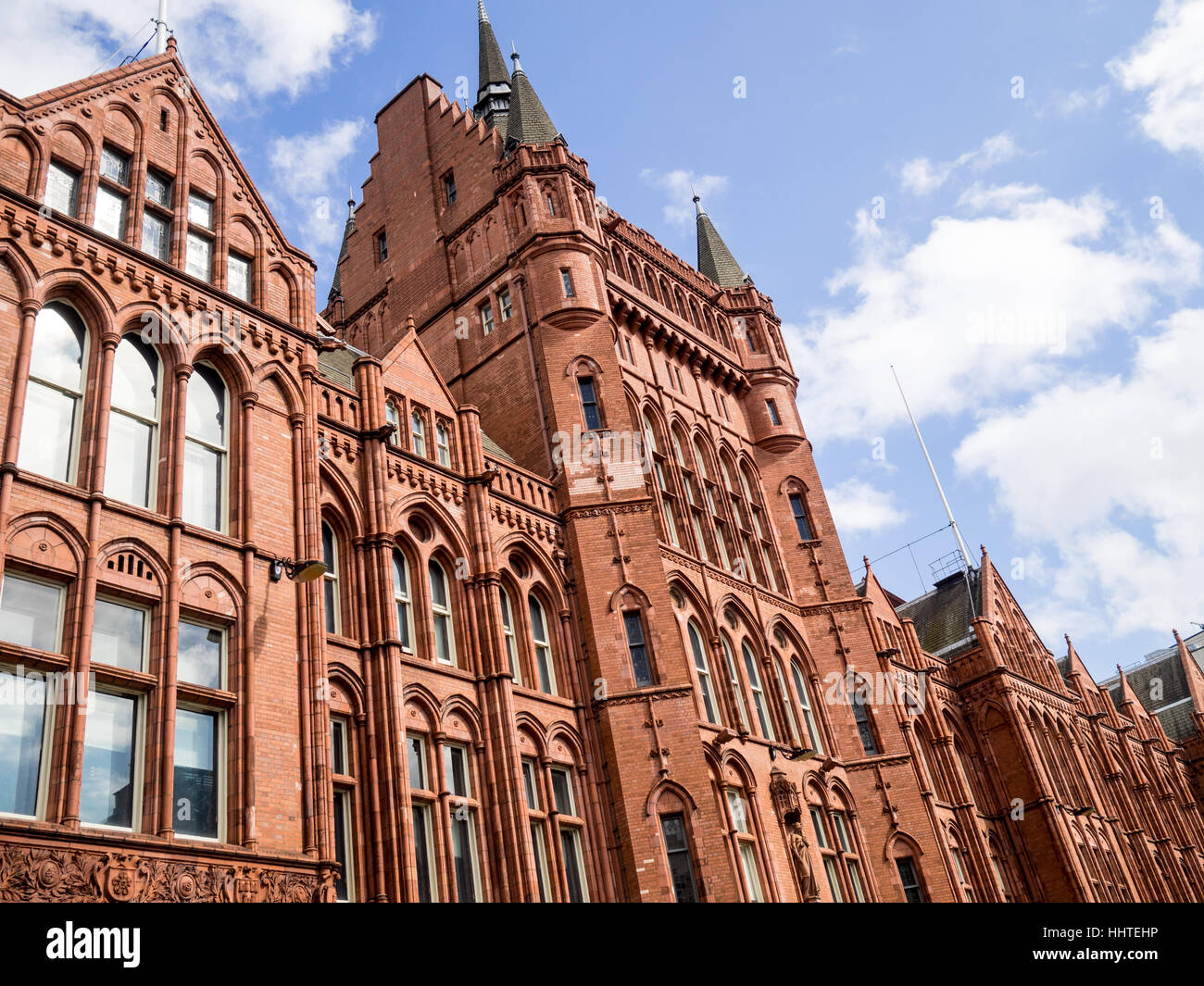 Holborn Bars, also known as the Prudential Assurance Building in Holborn, Central London (former Prudential Assurance - Stock Image