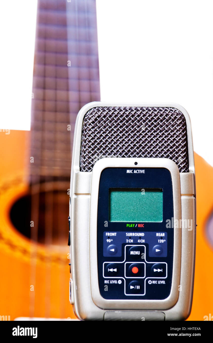 digital, absorb, recorder, record, modern, modernity, new, small, tiny, little, Stock Photo