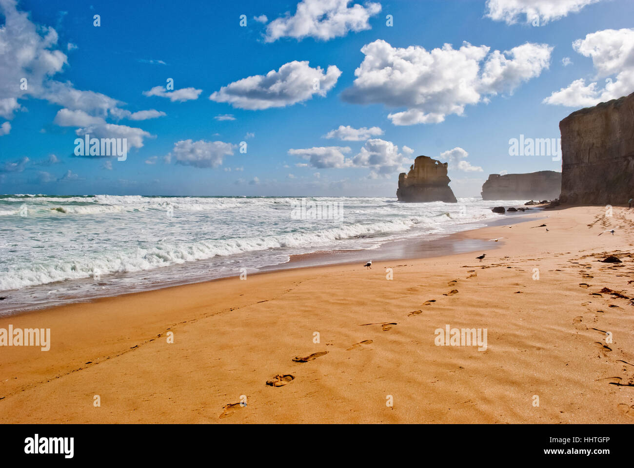Twelve Apostles, Great Ocean Road, Australia - Stock Image