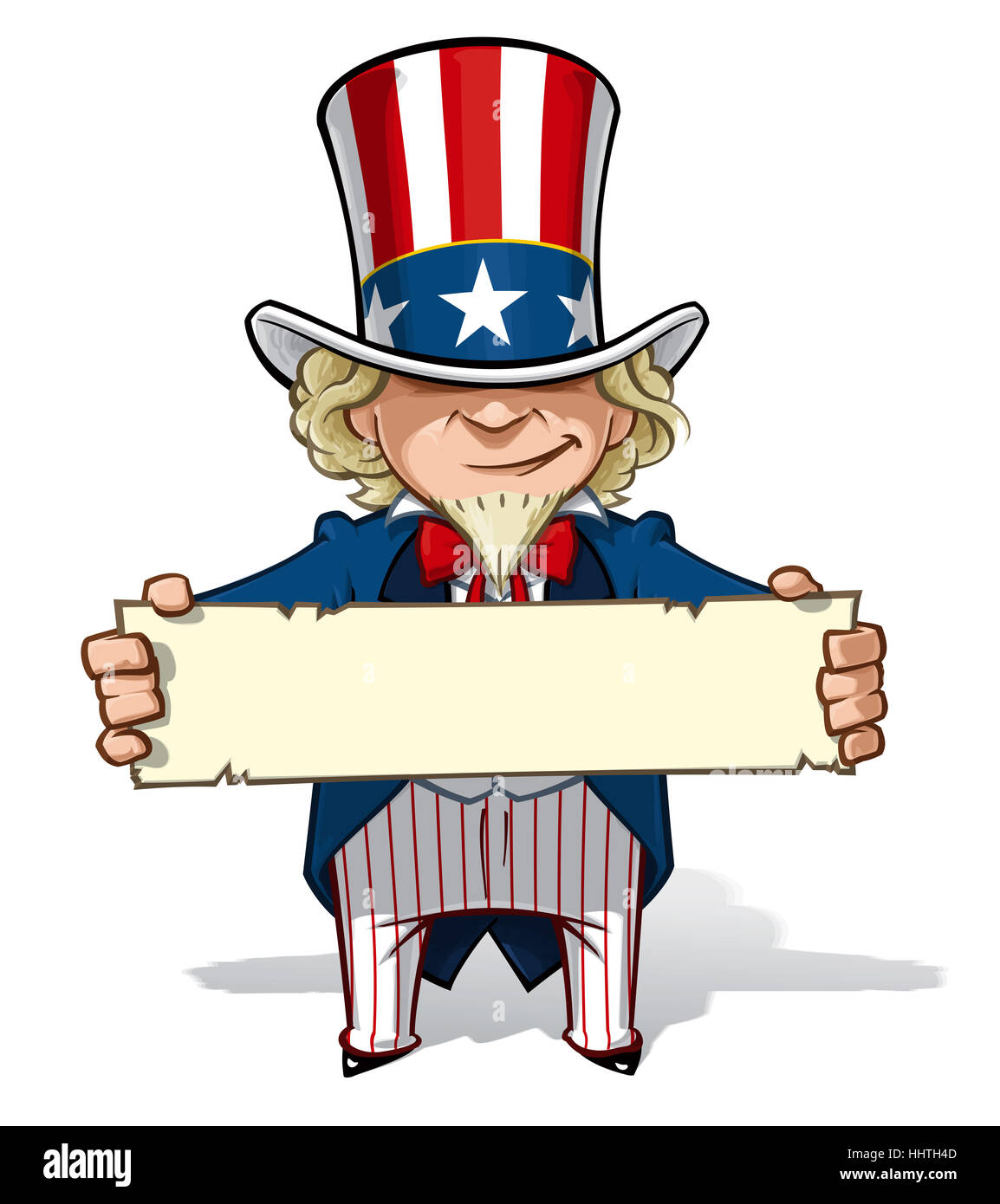 usa, america, president, elections, cartoon, blue, laugh, laughs, laughing, - Stock Image