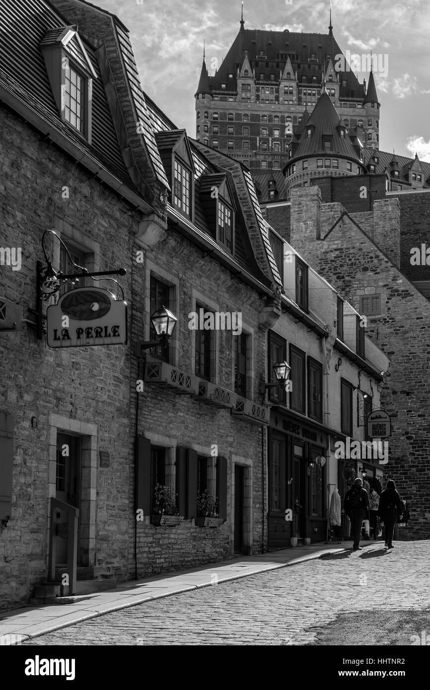 Quebec Heritage - Stock Image