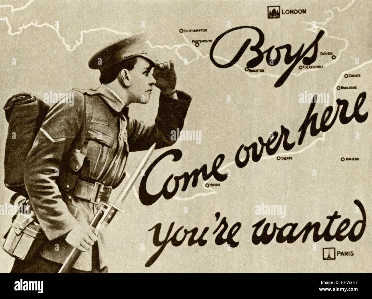 Army Recruitment Stock Photos & Army Recruitment Stock