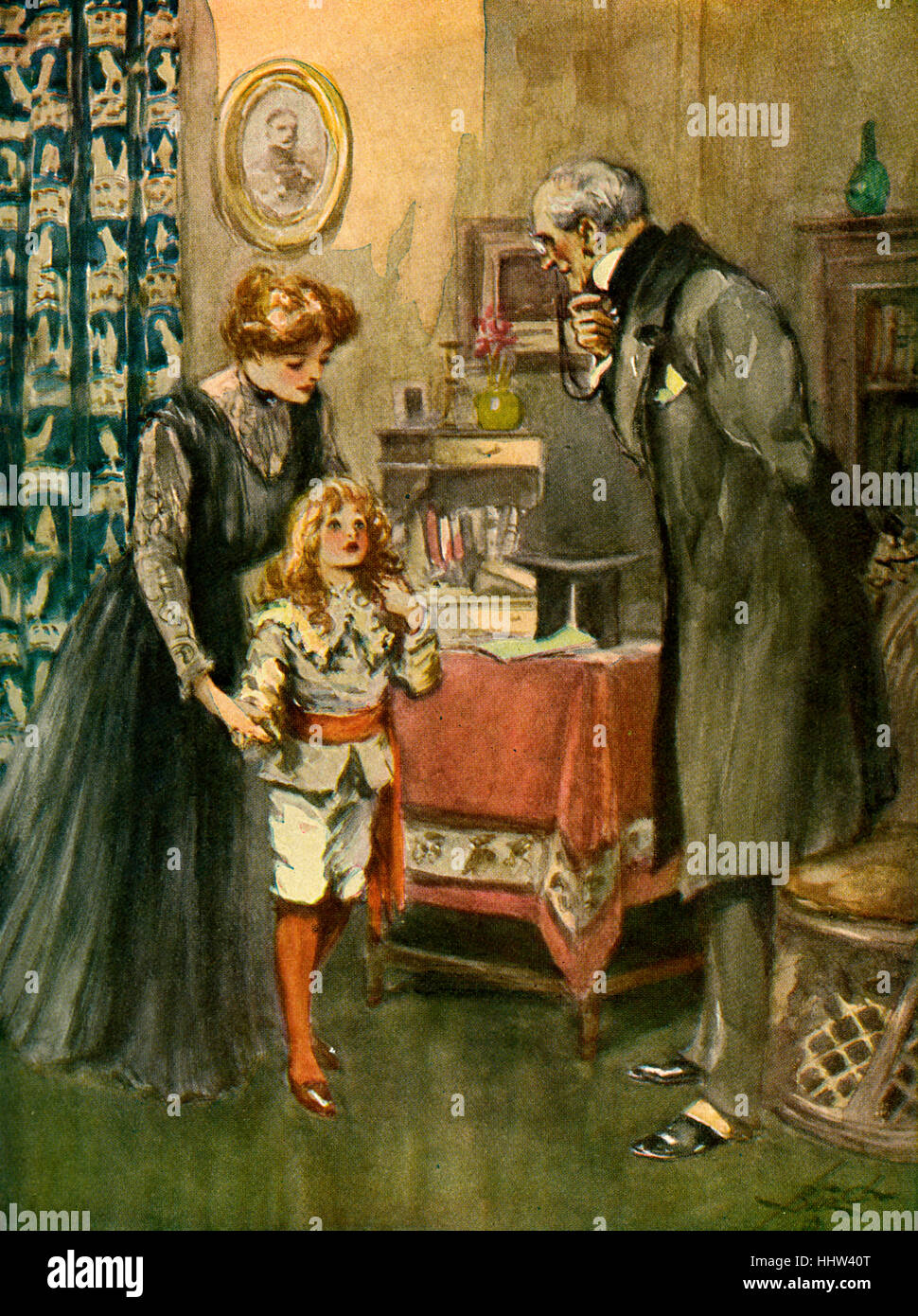Little Lord Fauntleroy By Frances Hodgson Burnett Caption Reads So Stock Photo Alamy