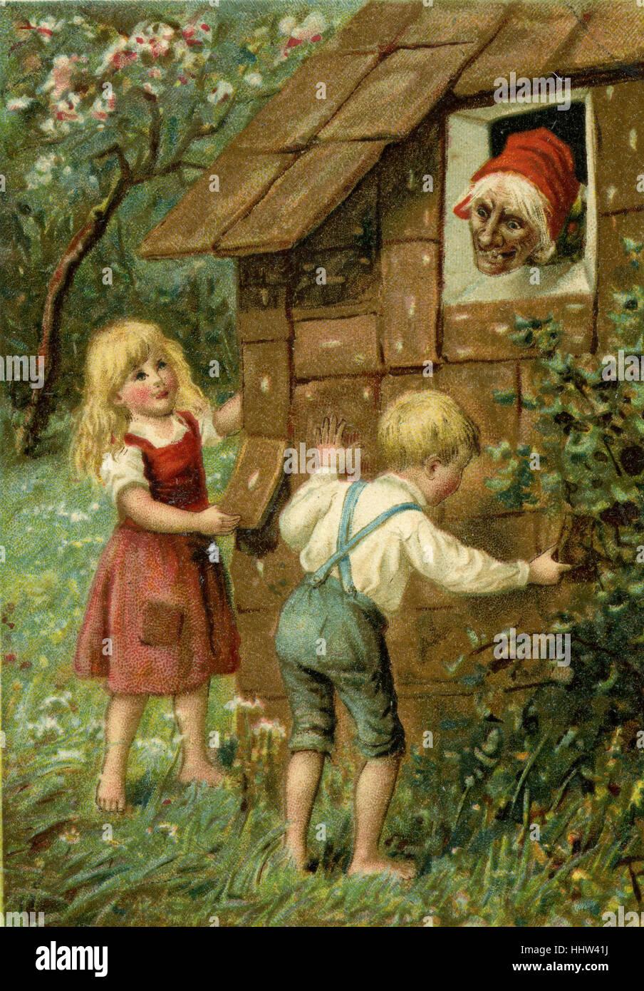 hänsel und gretel' (hansel and gretel) - german fairy talethe