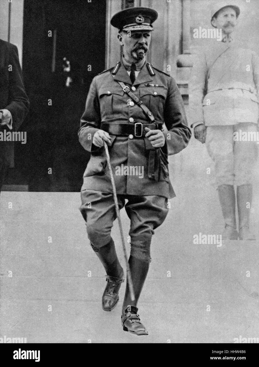 General Jan Christian Smuts (24 May 1870 – 11 September 1950), South African statesman, during the First World War, - Stock Image