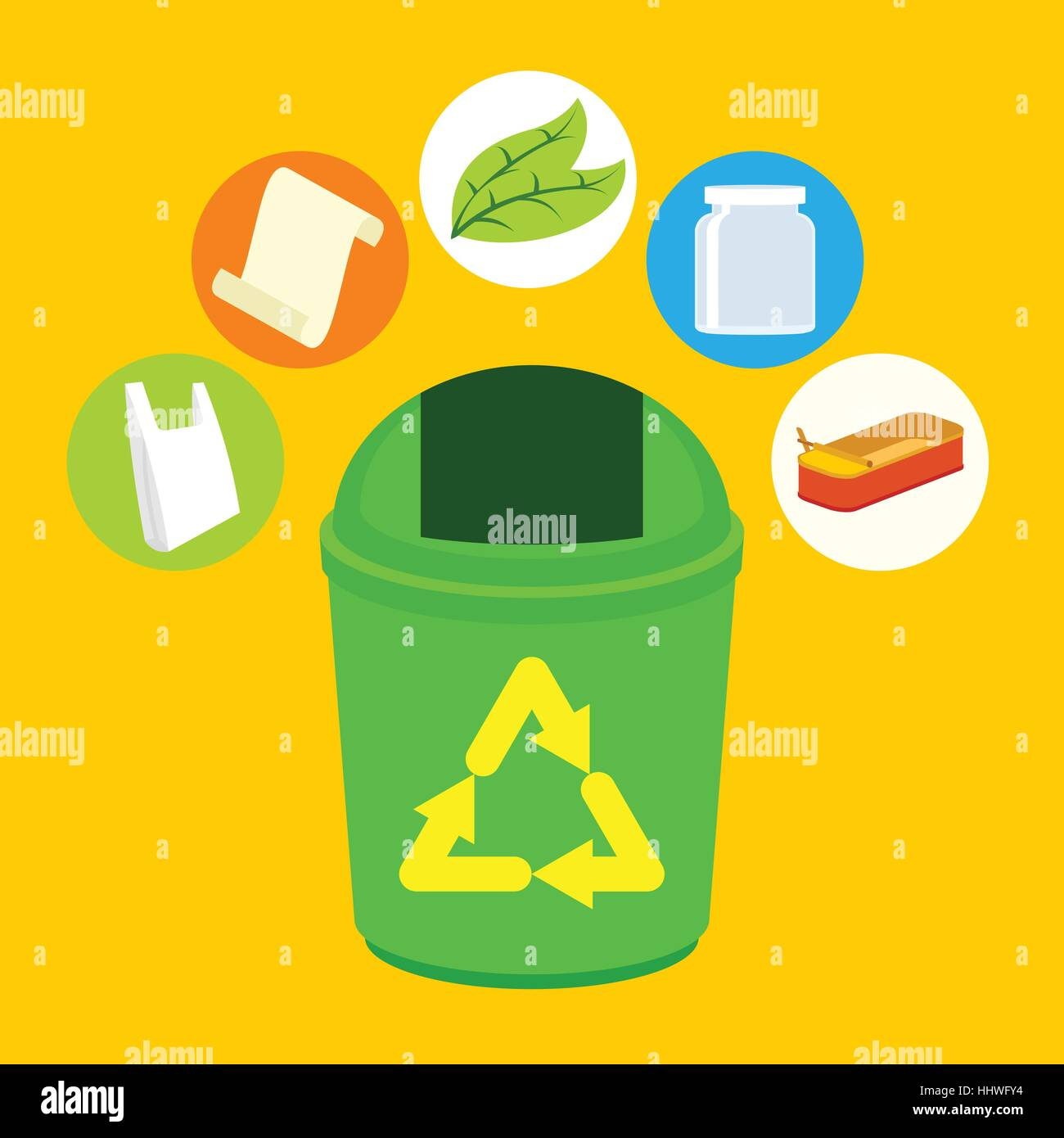 Trash Can Person Litter Disposal Garbage Throw