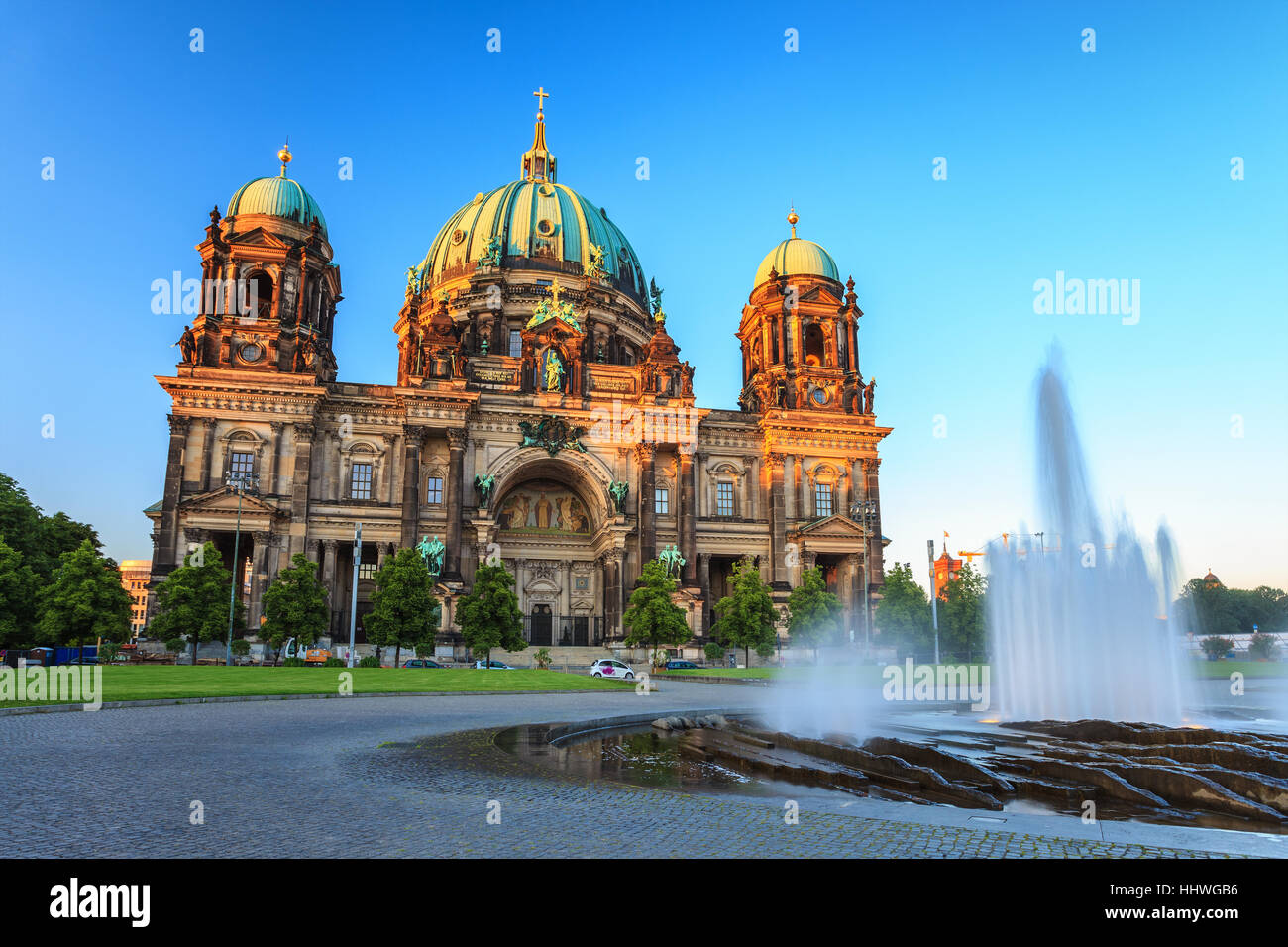 Berlin Cathedral or Berliner Dom, Berlin, Germany - Stock Image