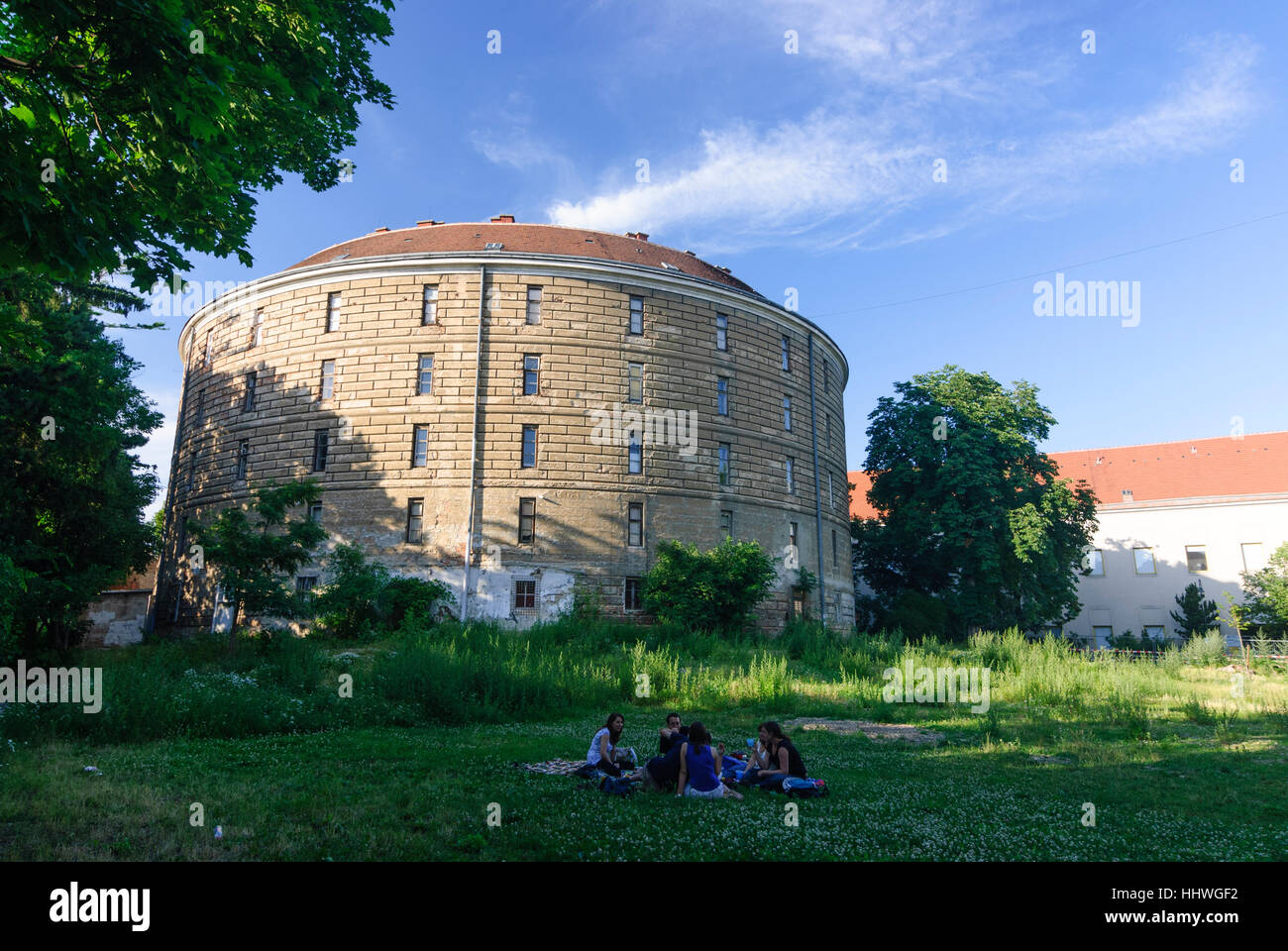 Wien, Vienna: Old general hospital; Fool's tower with the pathological-anatomical federal museum, 09., Wien, - Stock Image
