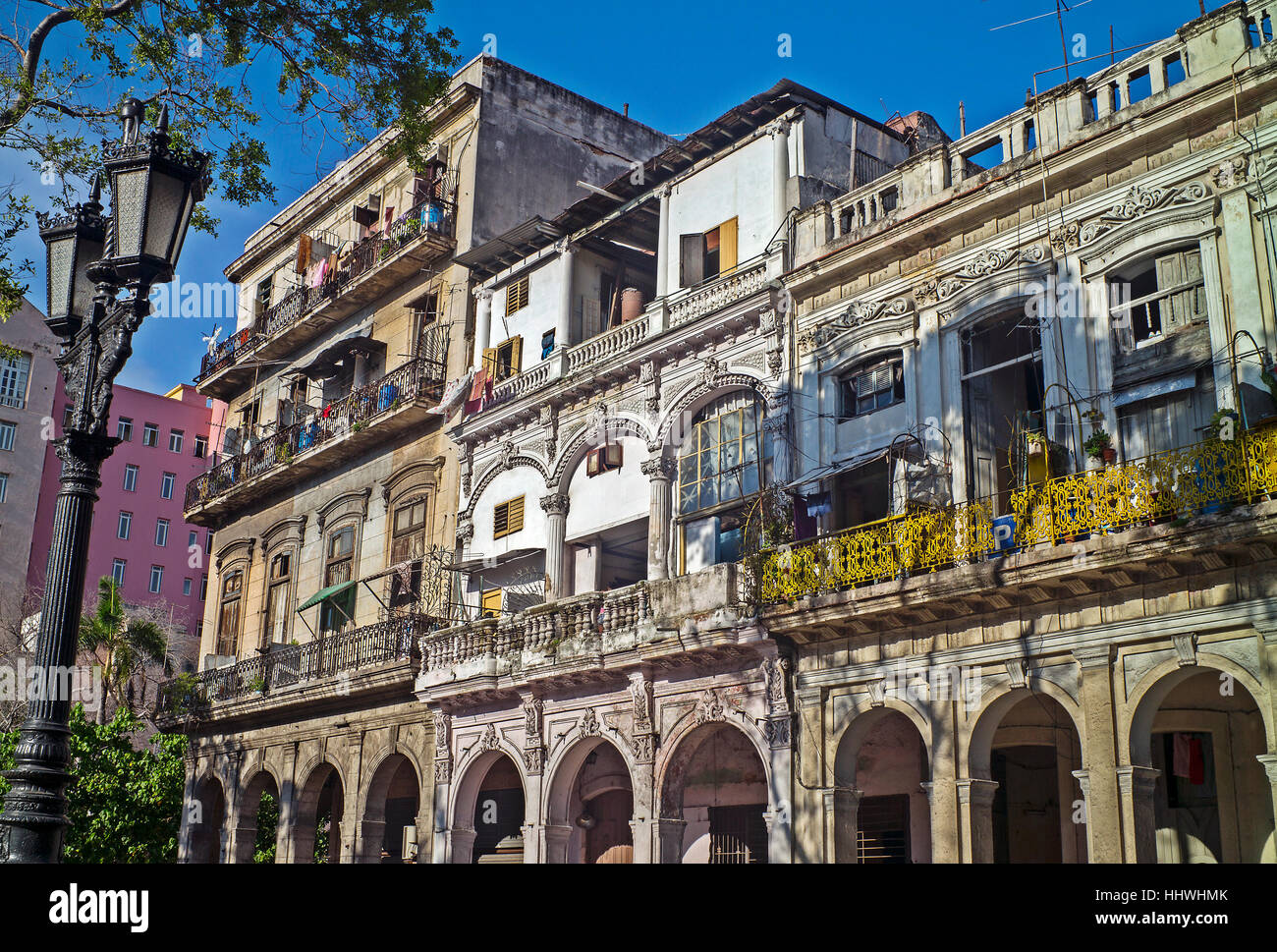 La Floridita bar in old Havana, drinking spot of Ernest Hemingway  home of Daiquiris and Mojitos old havana Cuba Stock Photo