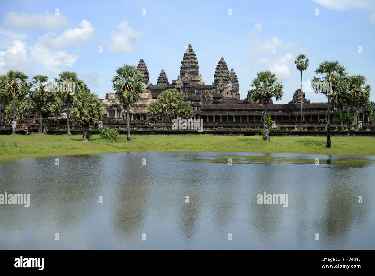 Angkor Wat, Siem Reap, Cambodia, Southeast Asia. - Stock Image