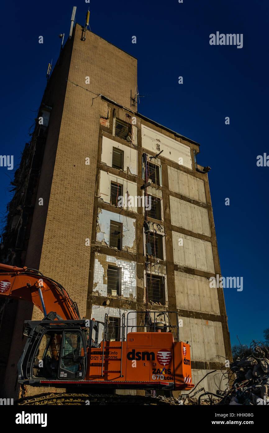 Demolition of old qeii hospital welwyn garden city united - Welwyn garden city united kingdom ...