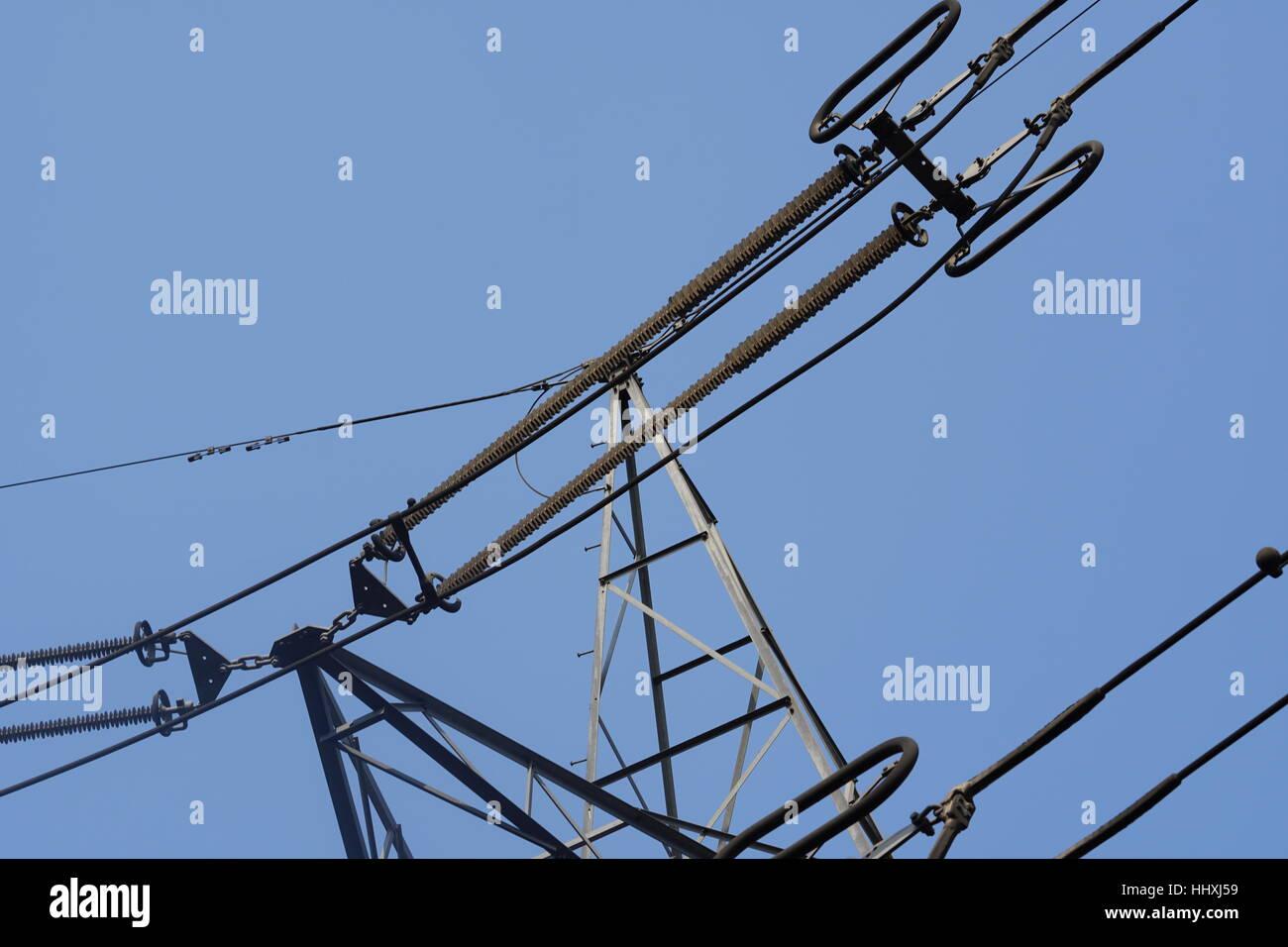Power Grid - Stock Image
