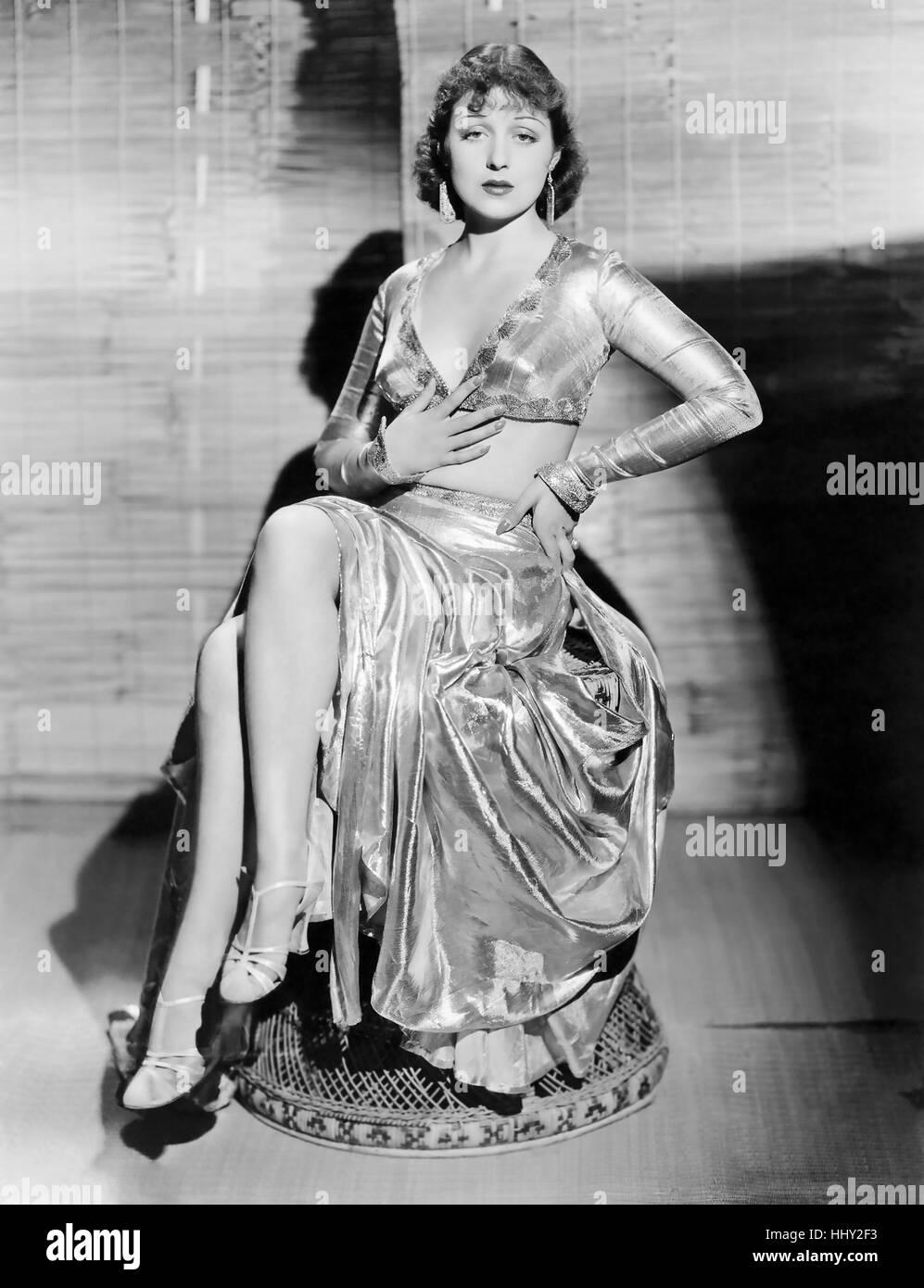 FRANCES DRAKE (1912-2000) US film actress - Stock Image