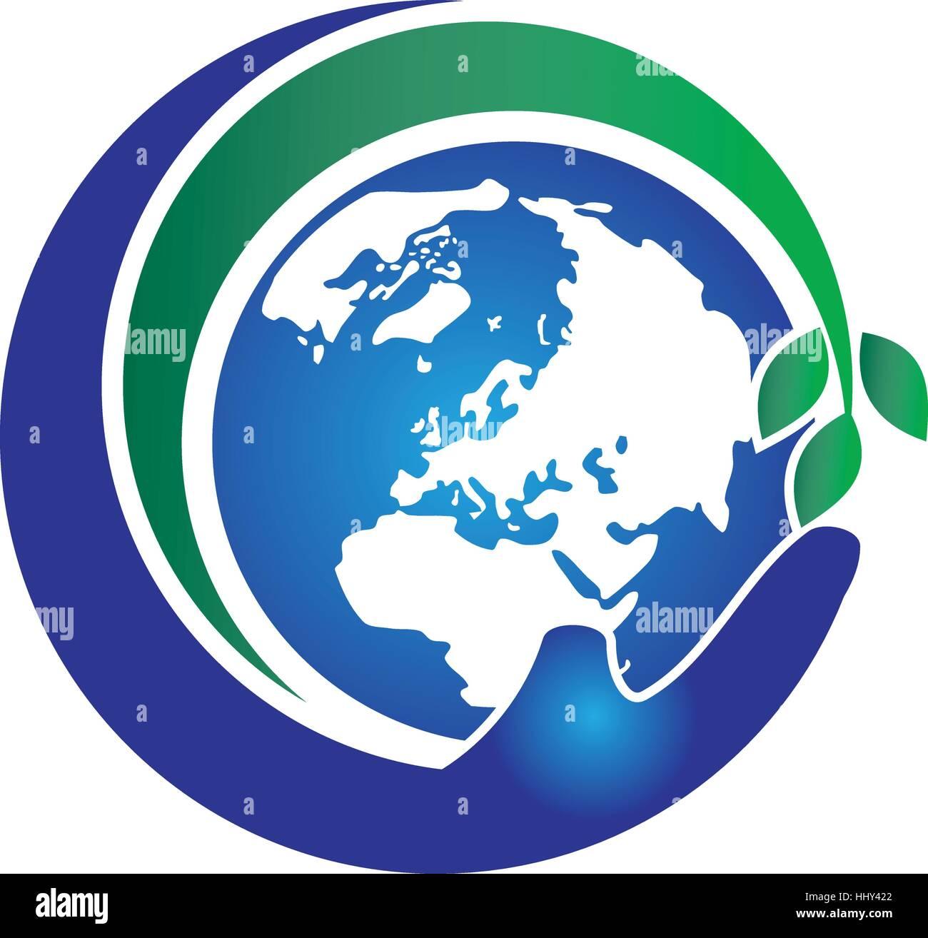 Global Farm and Garden Solution - Stock Vector