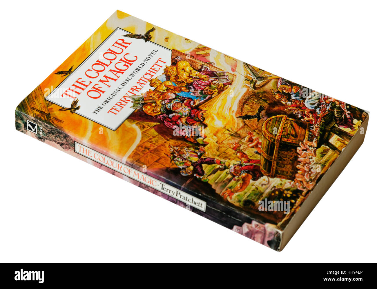 The Colour Of Magic A Discworld Novel By Terry Pratchett Stock Photo Alamy