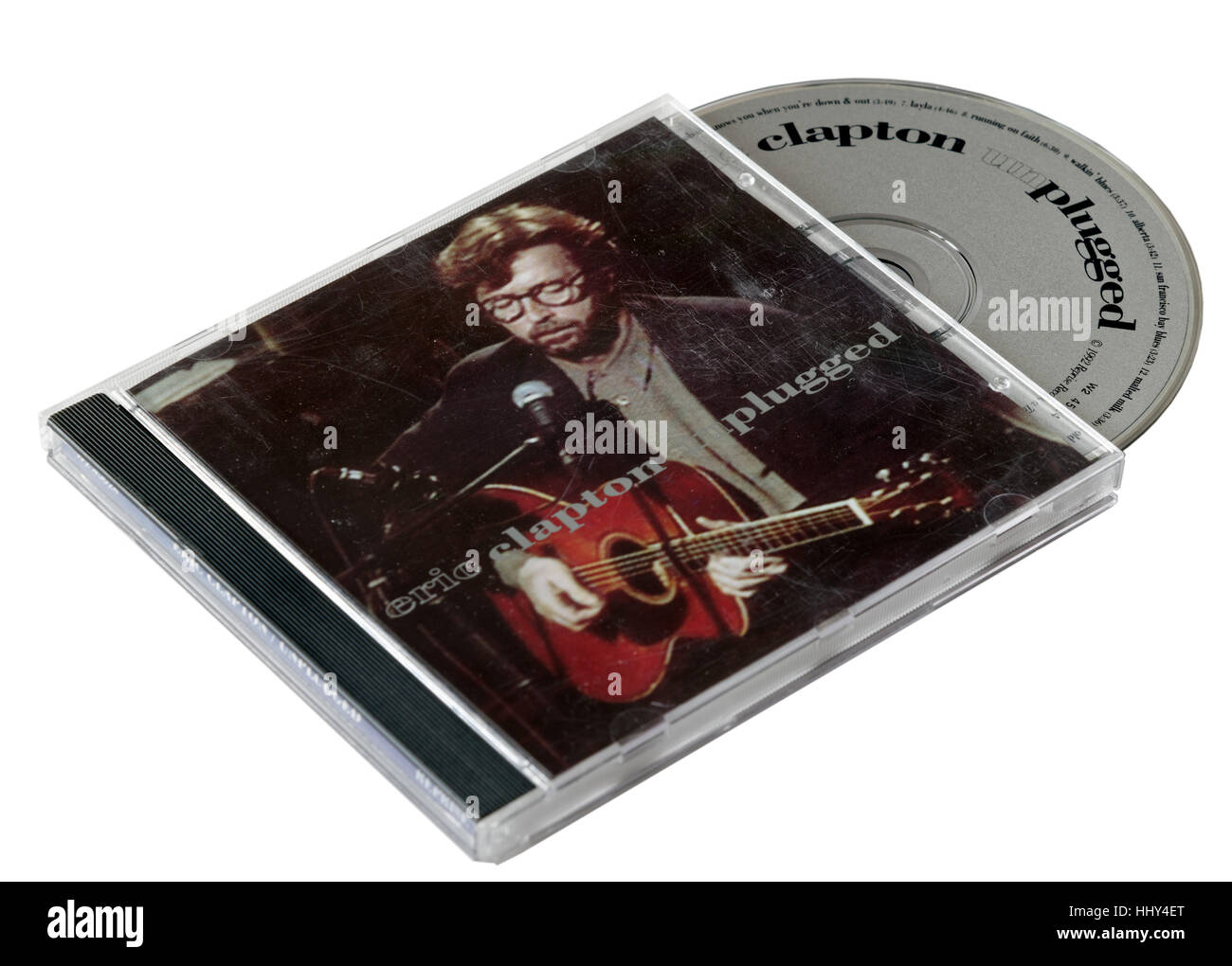 Eric Clapton Unplugged CD - Stock Image