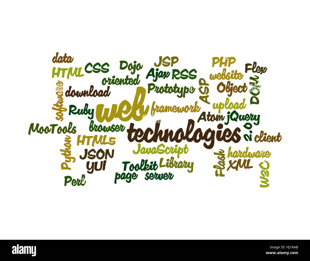 object, hardware, cloud, atom, flash, data, informations, substratums, facts, - Stock Image