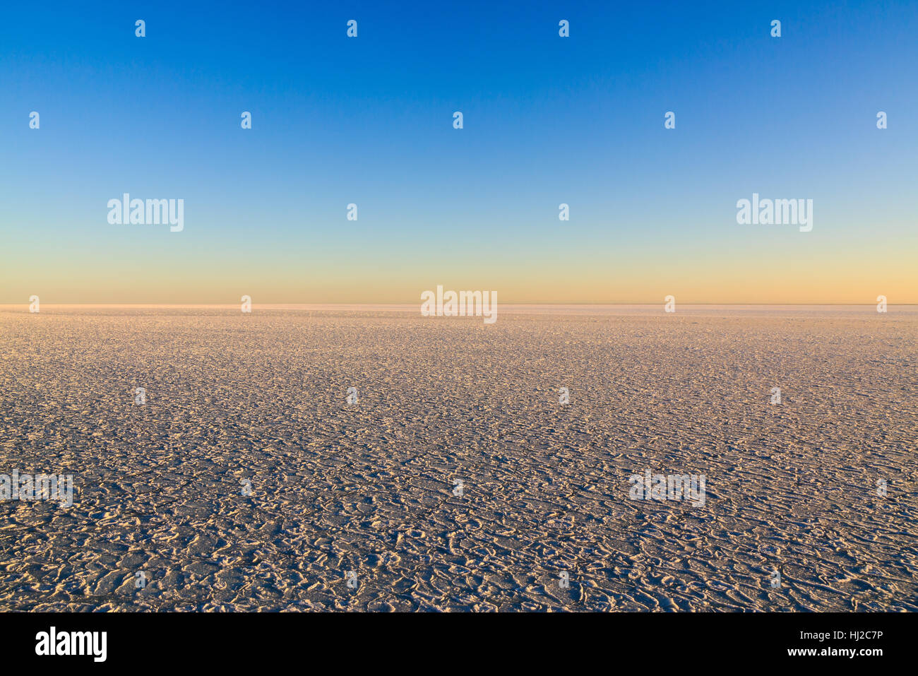 Background the sky and sea ice space - Stock Image