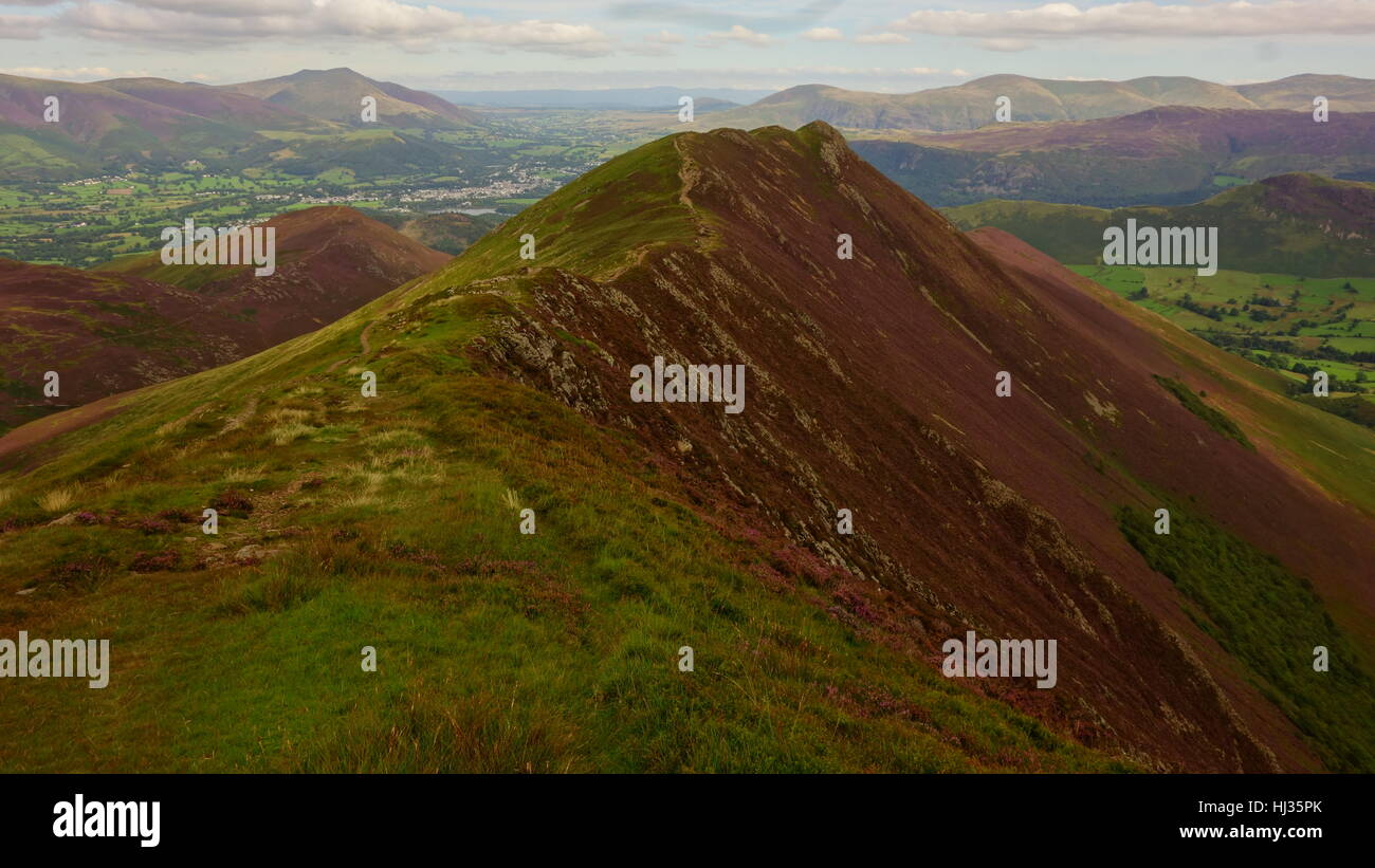 Causey Pike Stock Photo