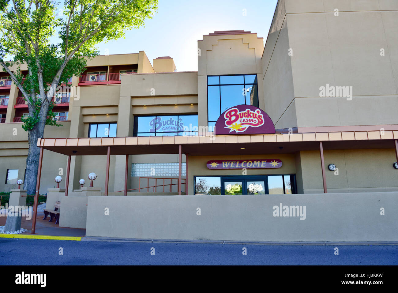 Bucky's Casino, Prescott, Arizona on Native American Indian reservation part of Prescott Resort & Conference - Stock Image