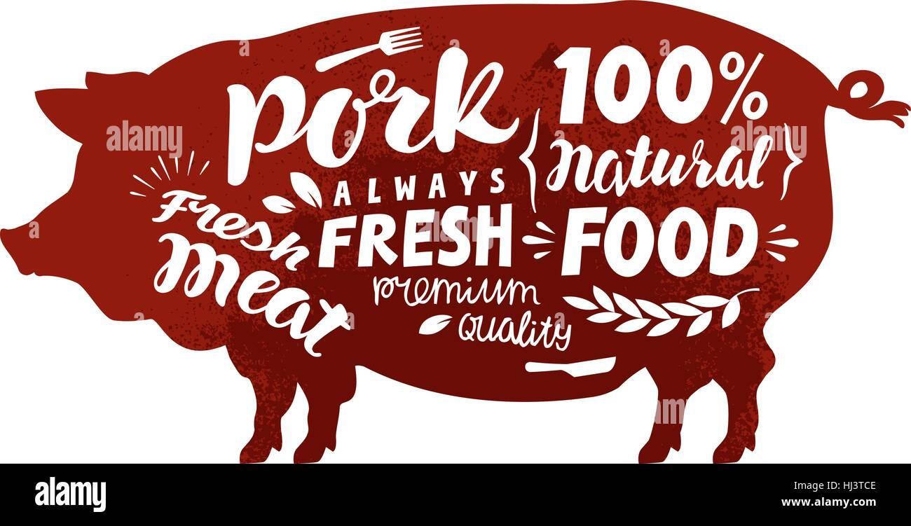 Hog Stock Vector Images Alamy