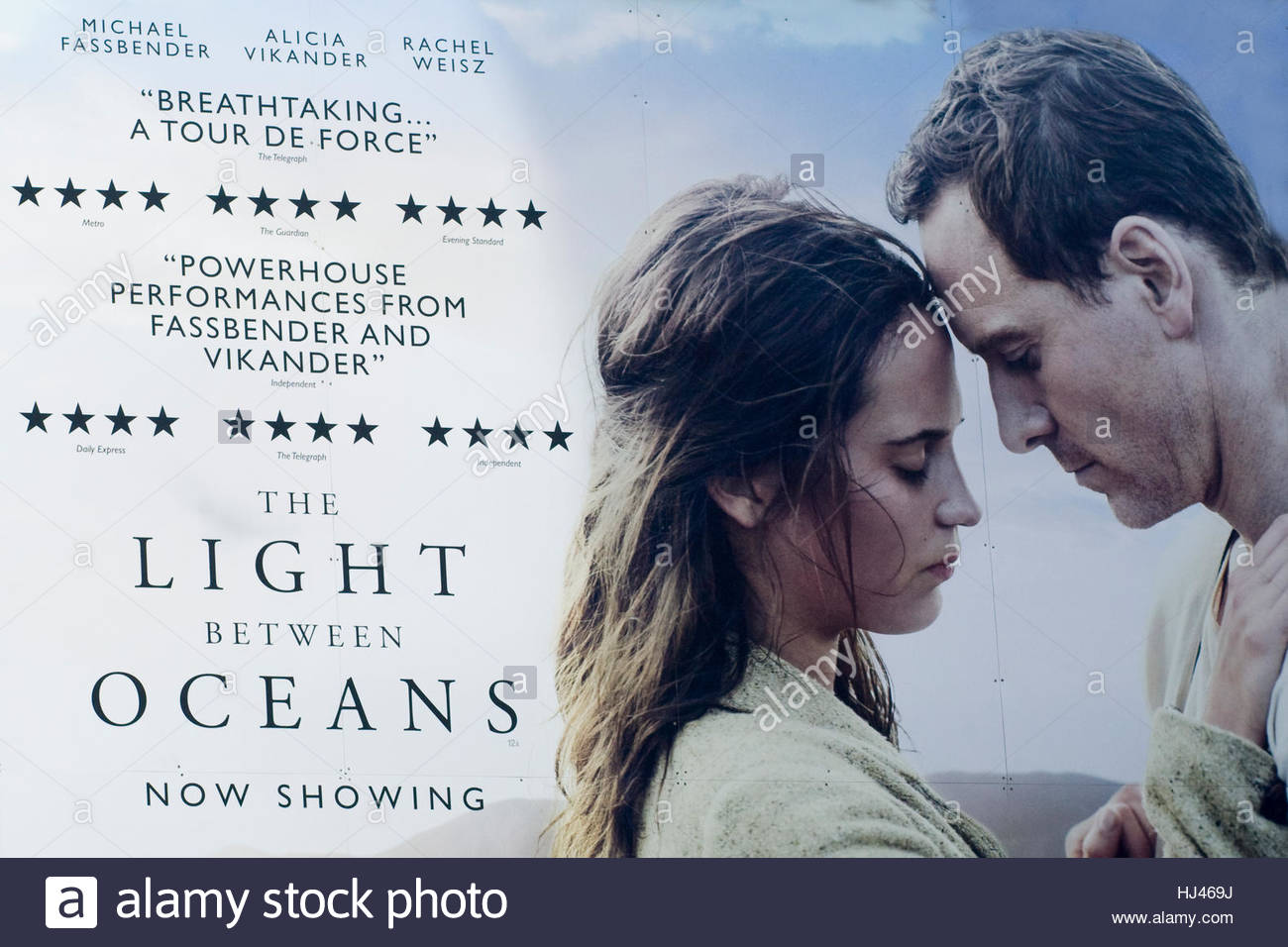 Information Poster Advertising The Film, The Light Between Oceans