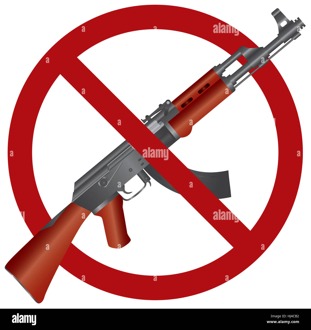 new, usa, law, rifle, arm, weapon, gun, firearm, ban, assault, humans, human - Stock Image