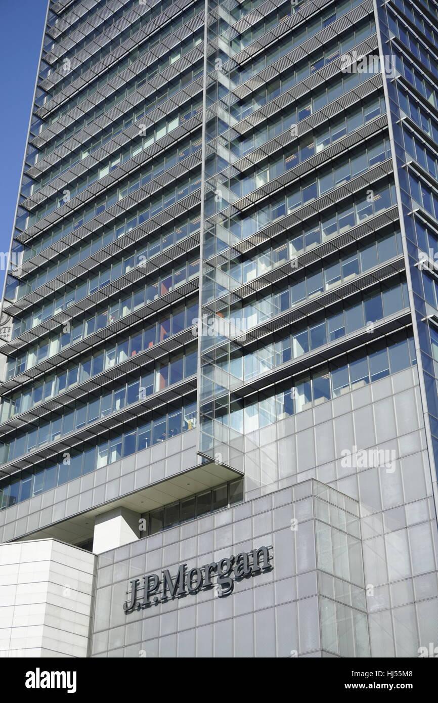 JP Morgan office building in Kuala Lumpur, Malaysia Stock Photo