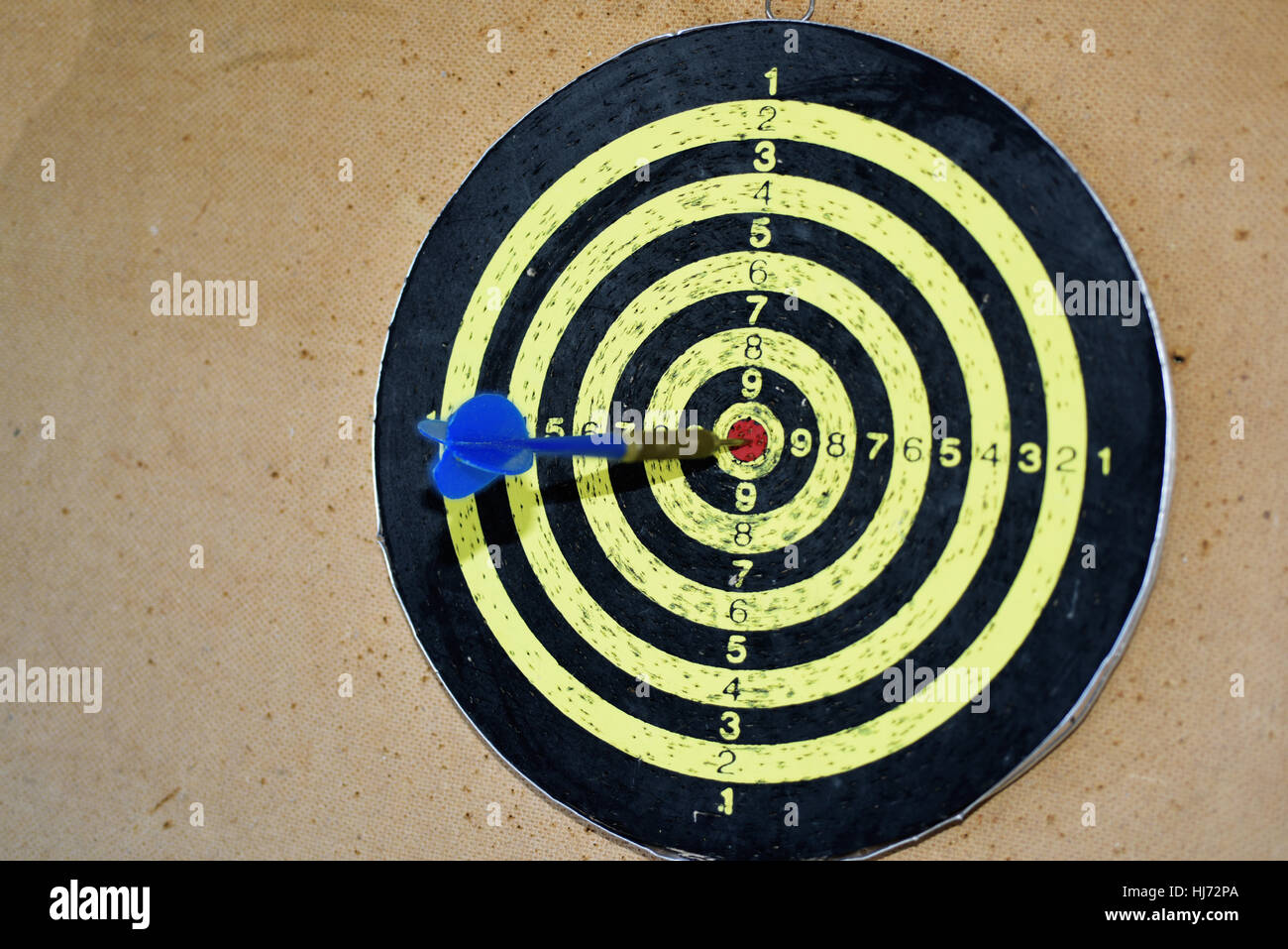 Abstract photo of darts. Stock Photo