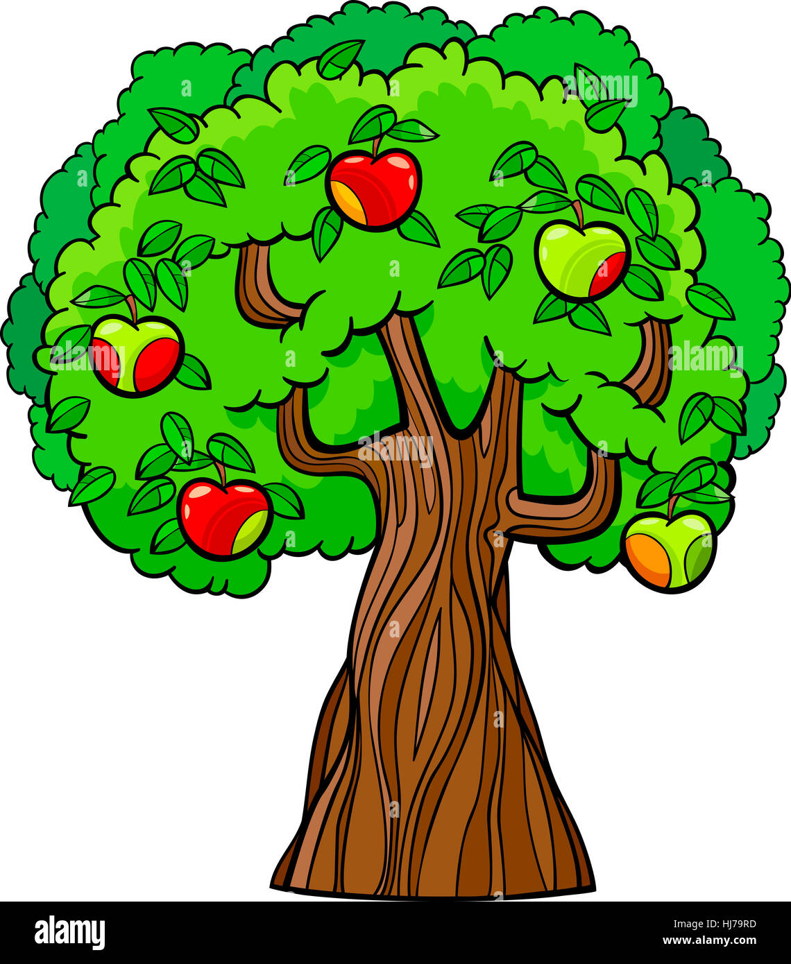 Tree Apple Tree Illustration Fruit Cartoon Apple Trunk Food Stock Photo Alamy These cartoon tree branches not only make your decor seem aesthetically appealing but also give you a feeling of greenery all around you. https www alamy com stock photo tree apple tree illustration fruit cartoon apple trunk food aliment 131697761 html