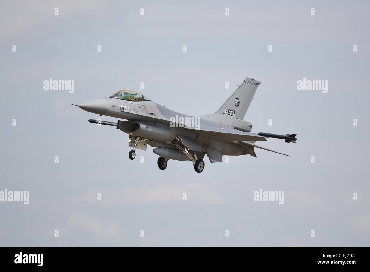 Royal Netherlands Air Force F-16AM Fighting Falcon Stock Photo