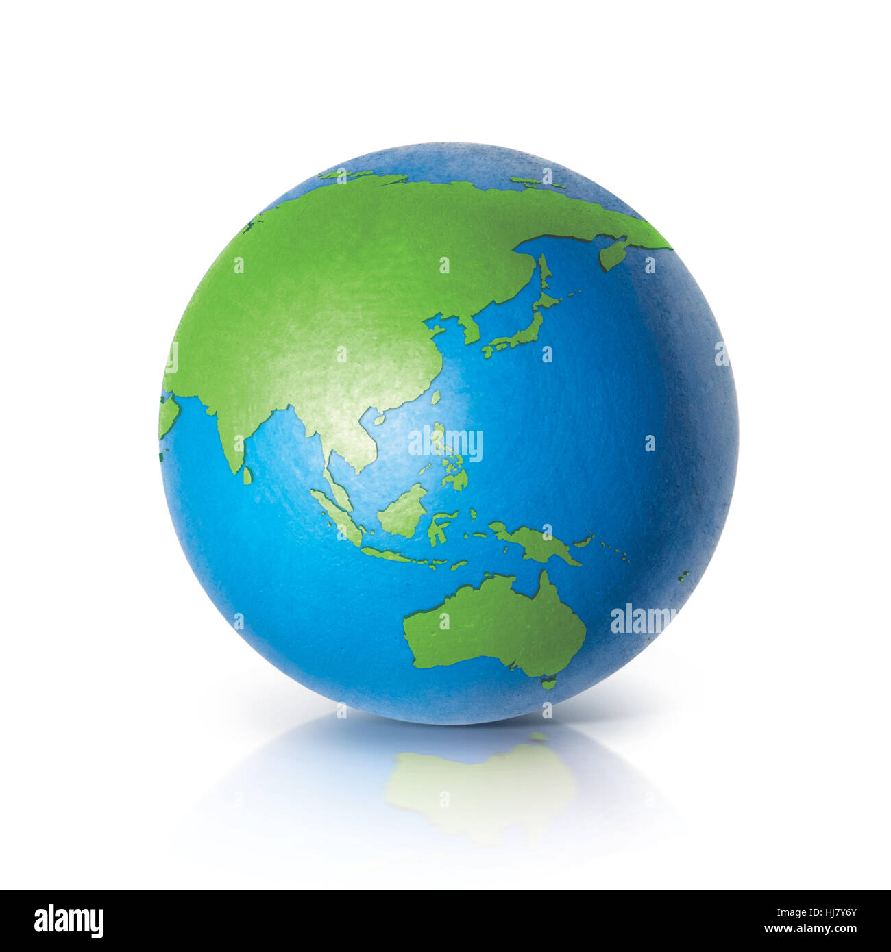 Color globe 3d illustration asia australia map on white background color globe 3d illustration asia australia map on white background gumiabroncs Image collections