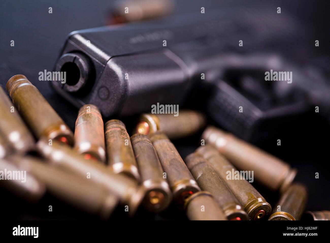 magazine, pistol, arm, weapon, ammunition, military, gun